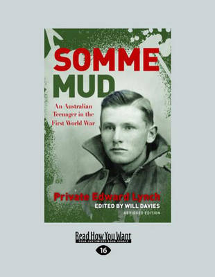 Somme Mud: Young Readers Edition by Will Davies