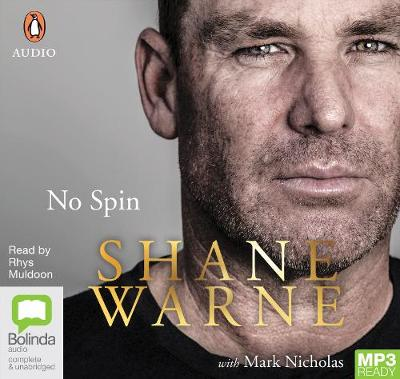 No Spin by Shane Warne