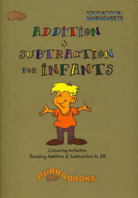 Addition and Subtraction for Infants: Colouring Activities - Educational Worksheets by Greg Porich