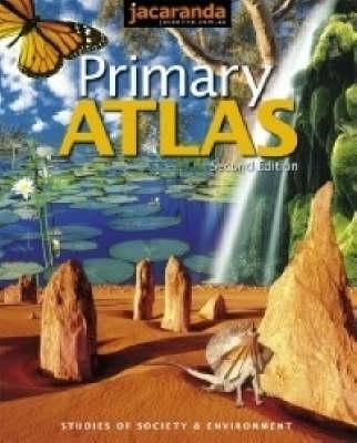 Jacaranda Primary Atlas: With Accompanying Interactive Atlas of Australia on CD-Rom by JACARANDA