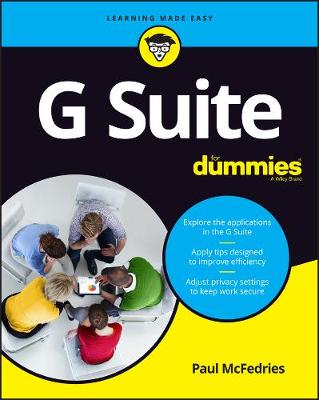 G Suite For Dummies by Paul McFedries