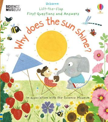Lift-the-Flap First Questions and Answers Why Does the Sun Shine? by Katie Daynes