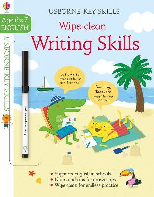 Wipe-Clean Writing Skills 6-7 book