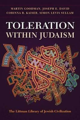 Toleration within Judaism by Martin Goodman