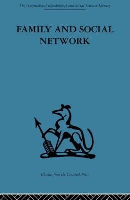 Family and Social Network by Elizabeth Bott Spillius