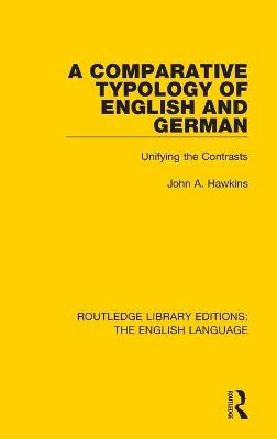 Comparative Typology of English and German book