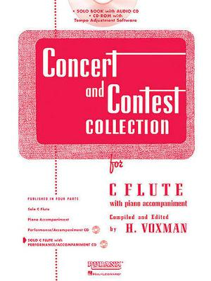 Concert and Contest Collection for C Flute by H Voxman