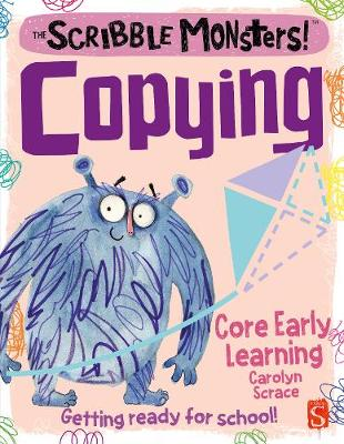 The Scribble Monsters!: Copying book