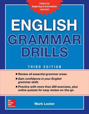 English Grammar Drills by Mark Lester