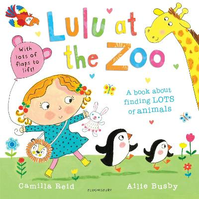 Lulu at the Zoo book