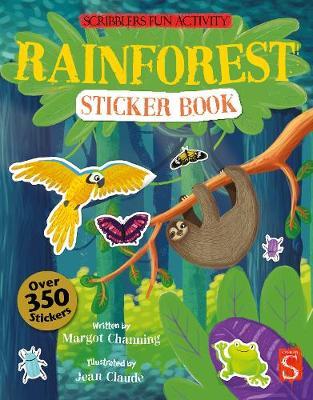 Rainforest Sticker Book by Margot Channing