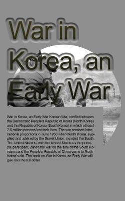 War in Korea, an Early War by Ben Williams