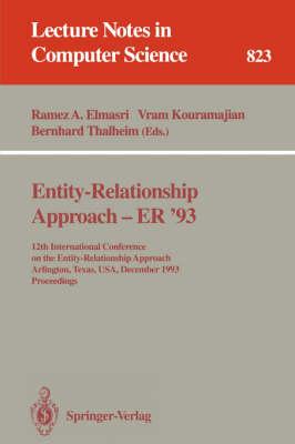 Entity-Relationship Approach - ER '93 by Elmasri