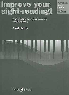 Improve Your Sight-Reading! Piano, Level 7 by Paul Harris