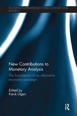 New Contributions to Monetary Analysis book