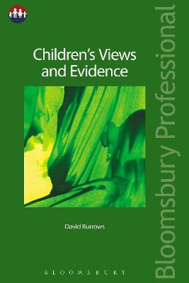 Children's Views and Evidence by David Burrows