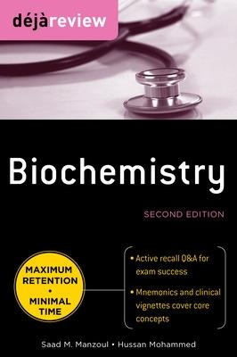 Deja Review Biochemistry by Saad M. Manzoul