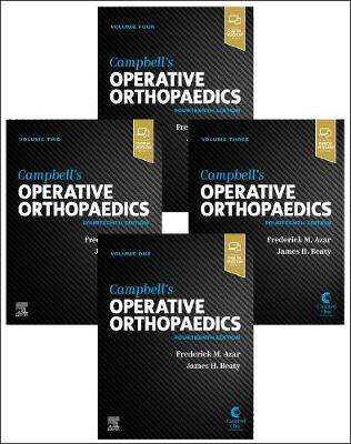 Campbell's Operative Orthopaedics, 4-Volume Set by Frederick M Azar