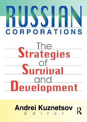 Russian Corporations by Erdener Kaynak