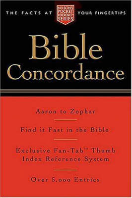 Pocket Bible Concordance by Thomas Nelson