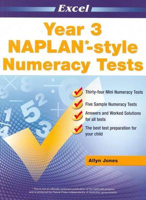 NAPLAN-style Numeracy Tests: Year 3 by Allyn Jones