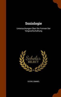 Soziologie by Georg Simmel