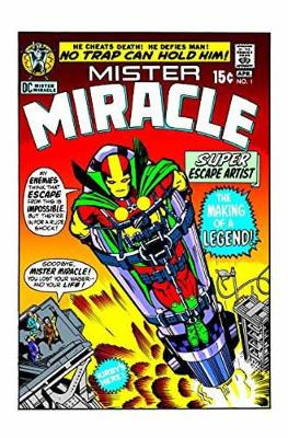 Mister Miracle By Jack Kirby (New Edition) book