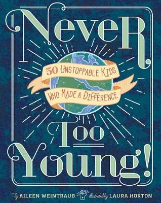Never Too Young! book