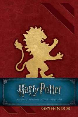 Harry Potter Gryffindor Hardcover Ruled Journal: Redesign by Insight Editions