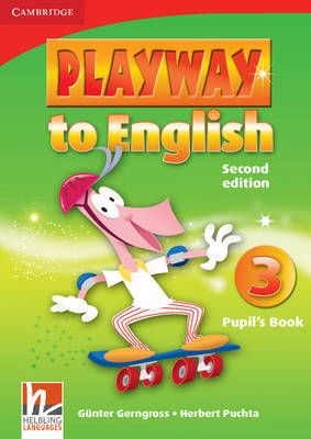 Playway to English Level 3 Pupil's Book by Gunter Gerngross