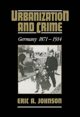 Urbanization and Crime book