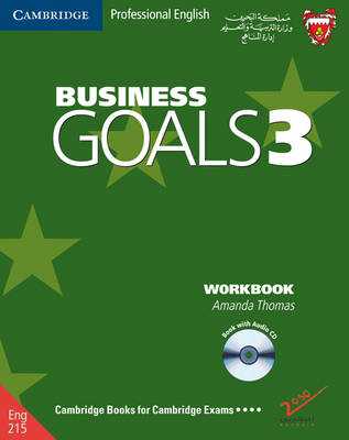 Business Goals 3 Workbook and Audio CD Bahrain Edition by Amanda Thomas