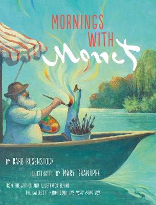 Mornings with Monet book