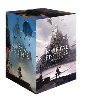 Mortal Engines Quartet Box 1-4 by Philip Reeve