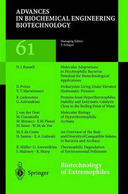 Biotechnology of Extremophiles by G. Antranikian