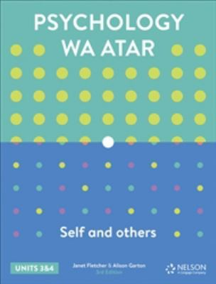 Psychology WA ATAR: Self & Others Units 3 & 4 Student Book with 4 Access Codes by Janet Fletcher