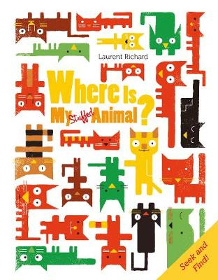 Where Is My Stuffed Animal? book