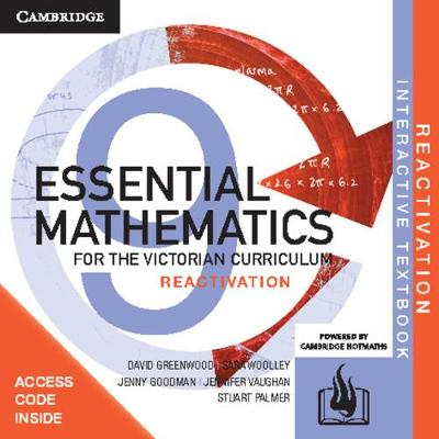 Essential Mathematics for the Victorian Curriculum Year 9 Reactivation (Card) by David Greenwood