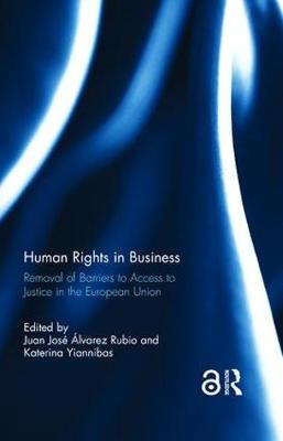 Human Rights in Business by Juan Jose Alvarez Rubio
