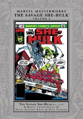 Marvel Masterworks: The Savage She-hulk Vol. 2 by David Anthony Kraft