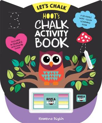 Hoot's Chalk Activity Book by Rowena Blyth