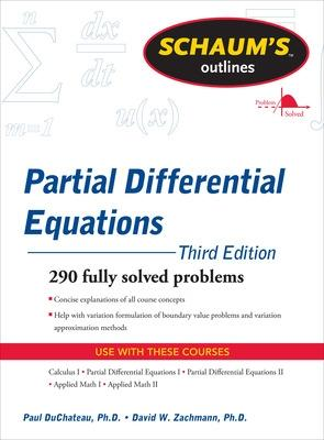 Schaum's Outline of Partial Differential Equations by Paul DuChateau