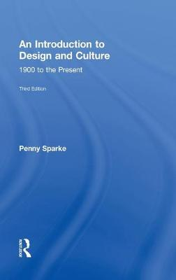 Introduction to Design and Culture by Penny Sparke