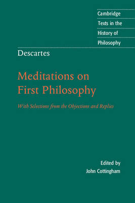 Descartes: Meditations on First Philosophy by Bernard Williams