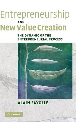 Entrepreneurship and New Value Creation book
