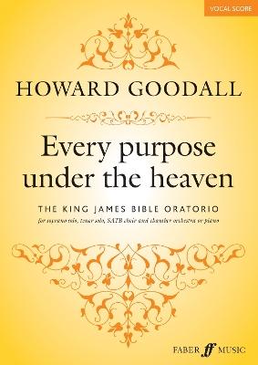 Every Purpose Under the Heaven (Vocal Score) book