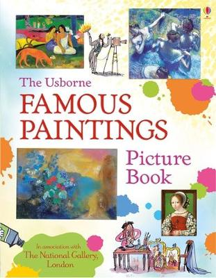 Famous Paintings Picture Book by Megan Cullis