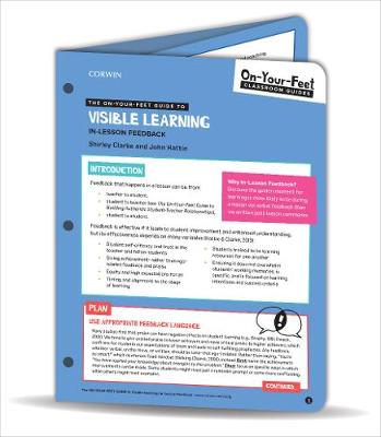 The On-Your-Feet Guide to Visible Learning: In-Lesson Feedback by Shirley Clarke