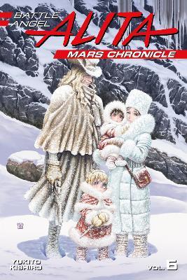 Battle Angel Alita Mars Chronicle 6 book