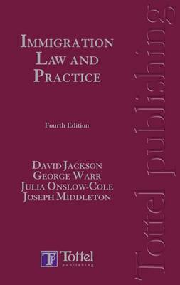 Immigration Law and Practice book